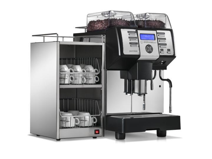 Kaffeevollautomat Nuova Simonelli Pontobar Tassenwärmer