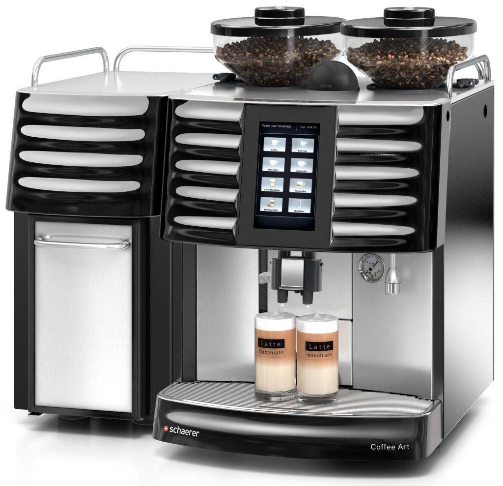 Schaerer Coffee Art schwarz - CS Kaltmilchsystem