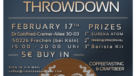 Latte Art Throwdown in Frechen